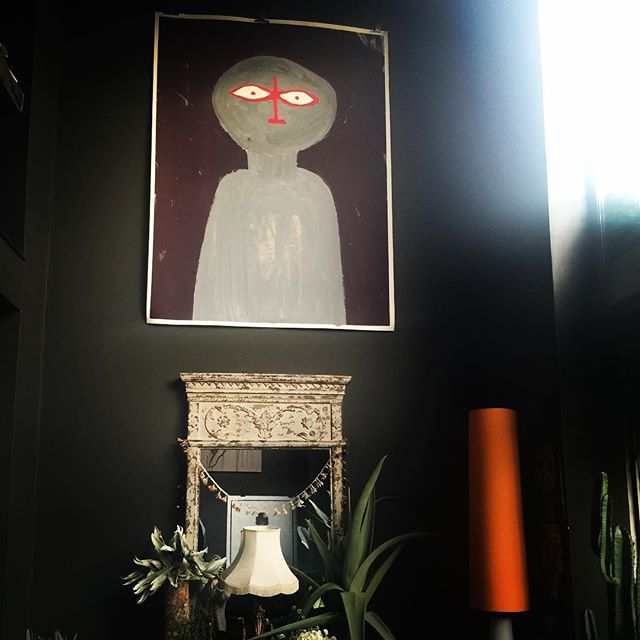 Art By Hong Kong Artist Anne Gee In Home Of Abigail Ahern