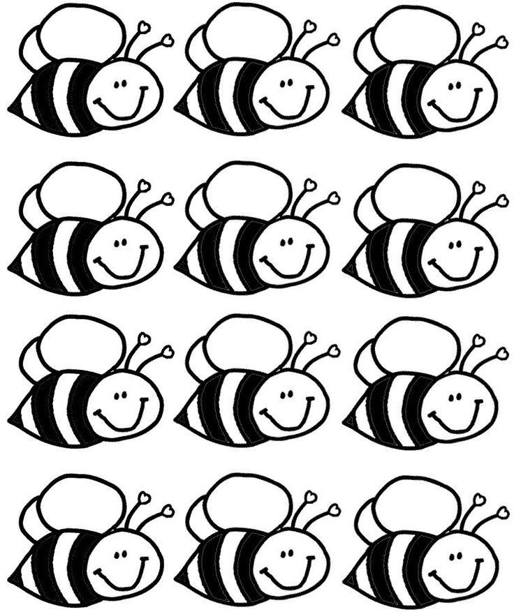 Coloring Rocks Bee Coloring Pages Bee Crafts For Kids Coloring Pages