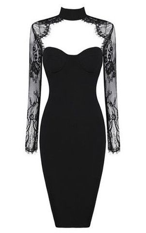 Chloe Black Lace Long Sleeve Dress Dresses Pinterest Dresses