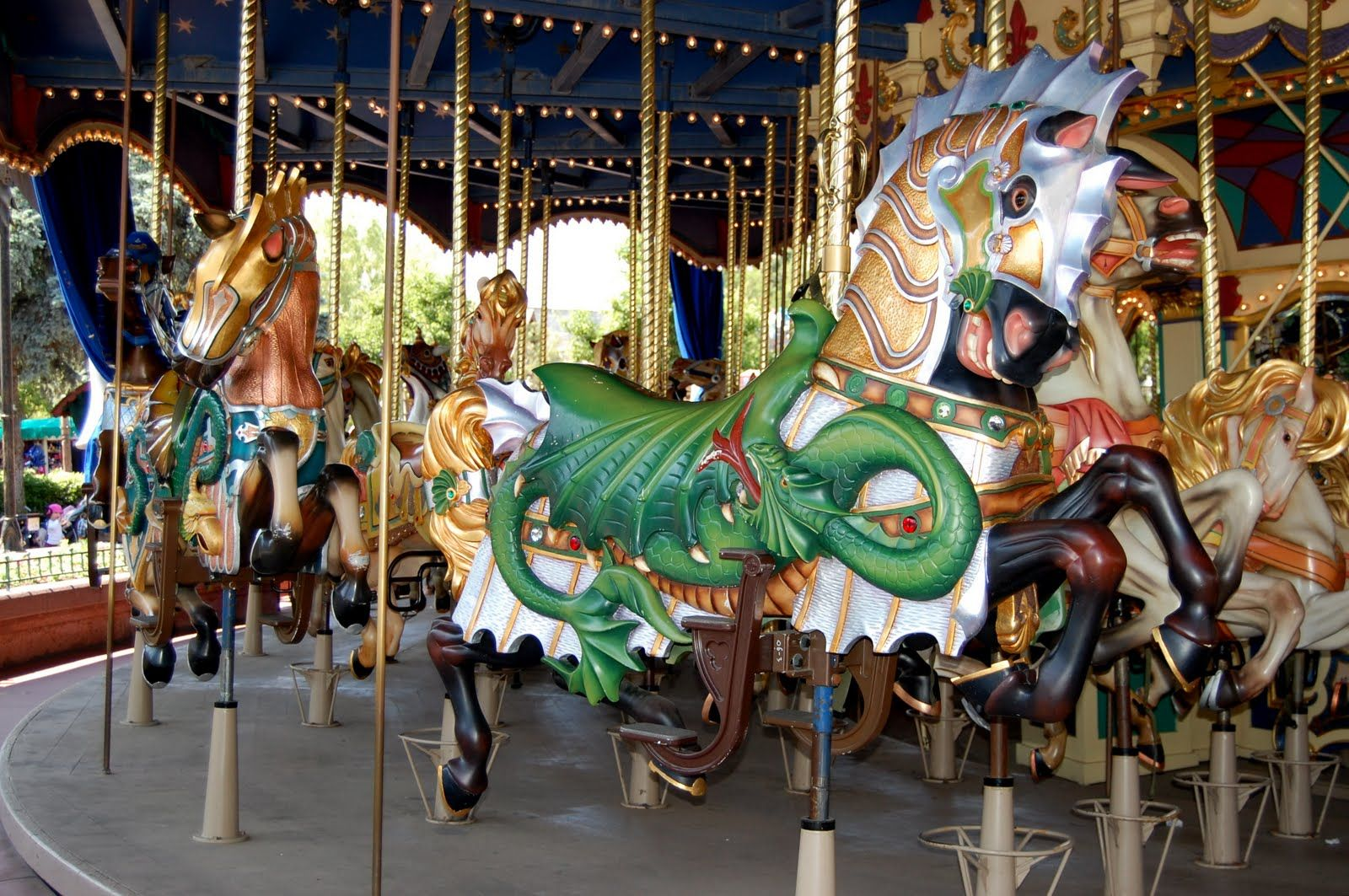 Disneyland carousel the round table carousel pinterest carousel geotapseo Images