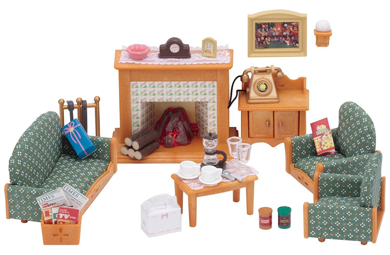 Sylvanian Families Deluxe Living Room Set Amazon.co.uk