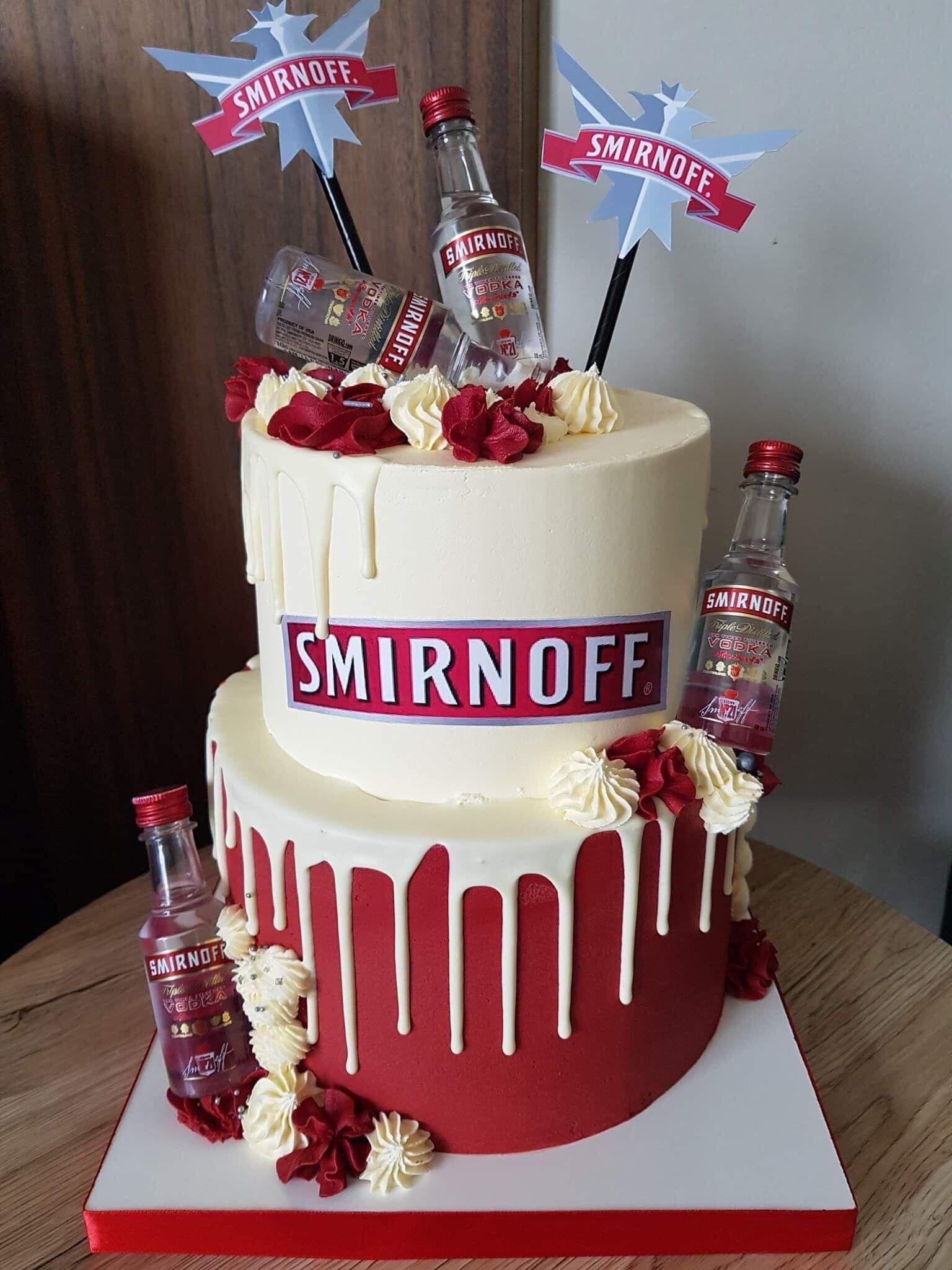 Birthday Cake 21st Birthday Cake Alcohol Alcohol Birthday Cake 22nd Birthday Cakes