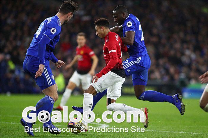 English Premier League Manchester United Vs Burnley Match