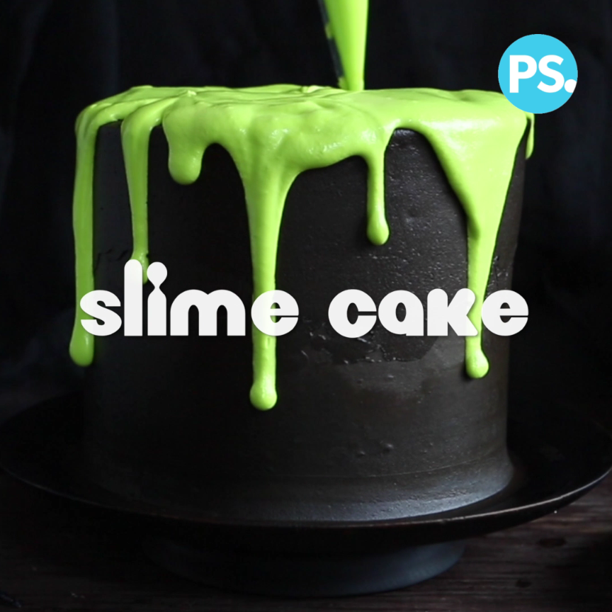 This Ooey Gooey Slime Cake Is As Delicious As It Is Fun