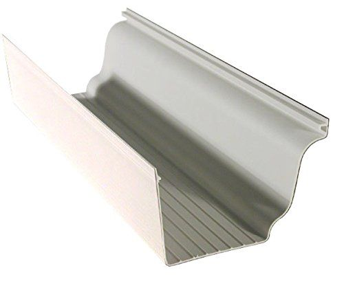 Genova Aw100k 5x10 White Vinyl Gutter Want To Know More Click On The Image Vinyl Gutter Vinyl White Vinyl
