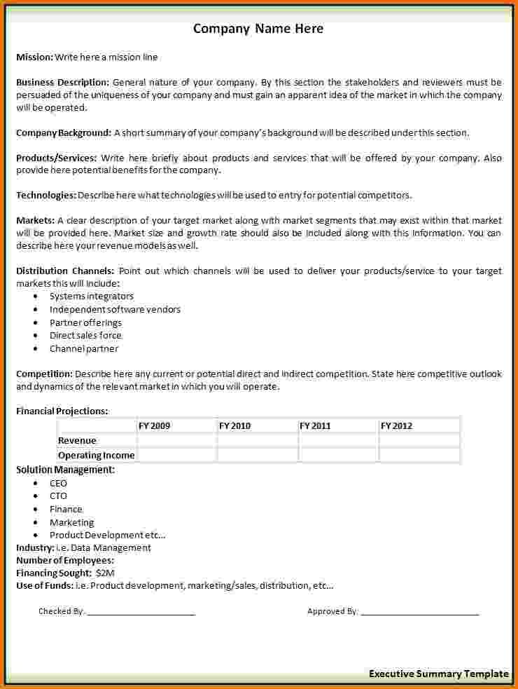executive summary sample templateg resume example with Home - direct sales resume