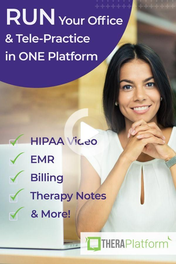 HIPAA Compliant Video Conferencing and Practice Management - TheraPlat