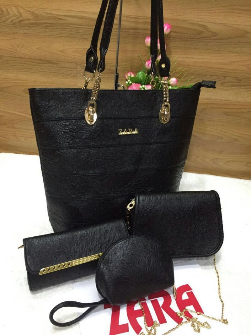 d21f752d97 latest Adorable  Black  Leather  Hand bags  Online Collection ...