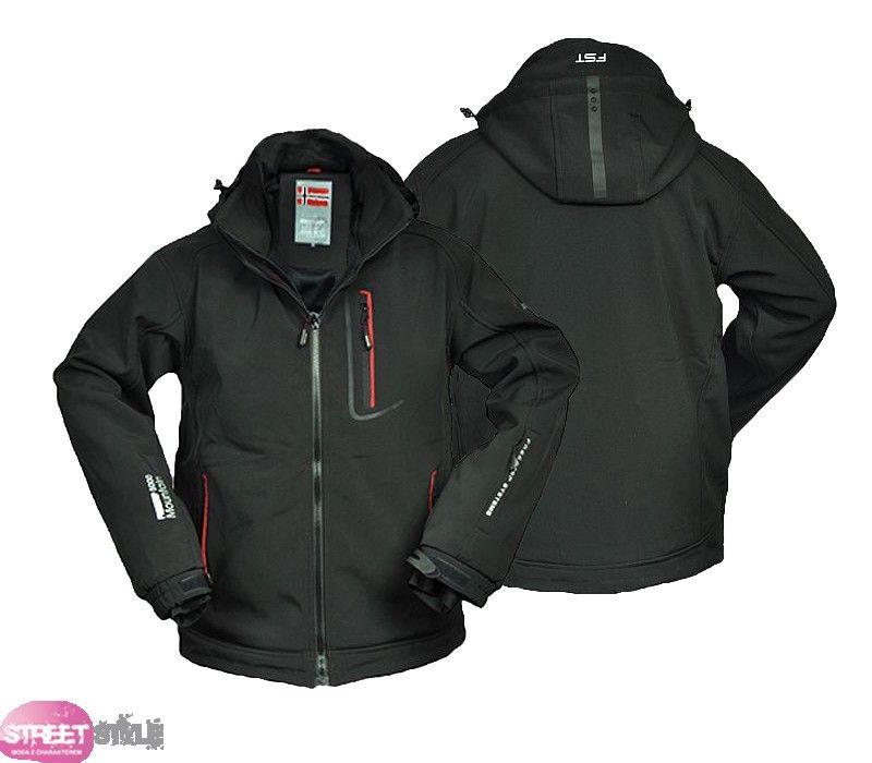 Kurtka Meska Softshell Freestep Nowosc M 4010523656 Oficjalne Archiwum Allegro Jackets Motorcycle Jacket Fashion