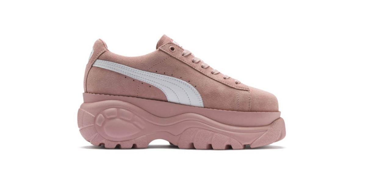 puma scarpe suola alta