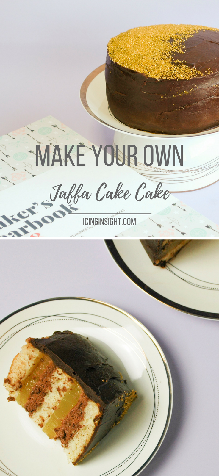 Jaffa Cake Cake Recipe - step by step instructions to make this ...