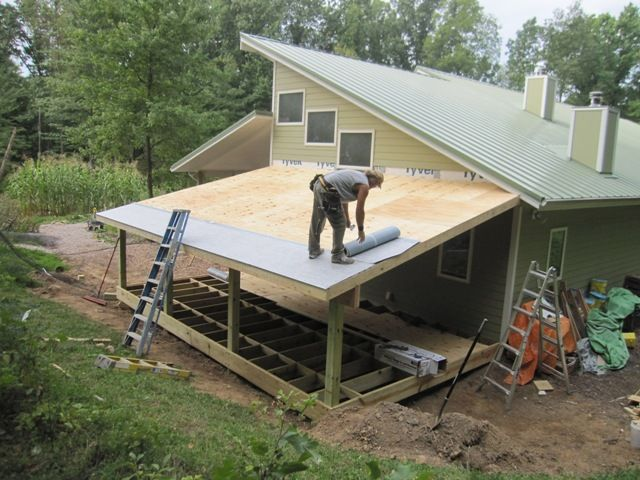 Brainright Shed Addition Home Porch Roof Carport