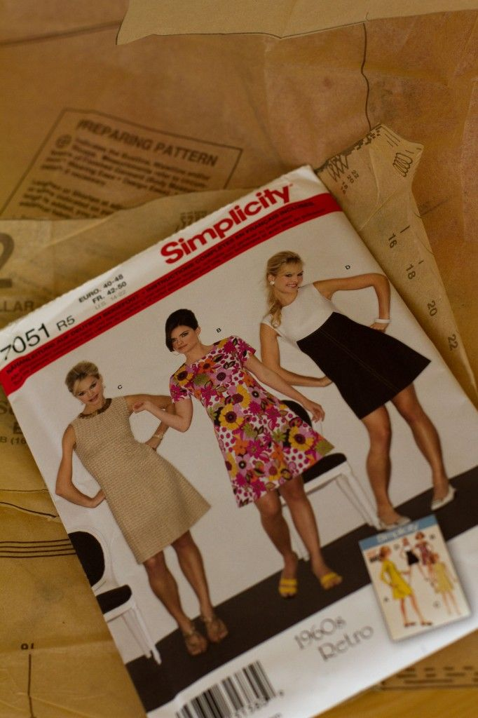 Eine kleine Dickmadam näht Kleider und Tuniken – Teil 4 - Simplicity 3833 or Simplicity 7051