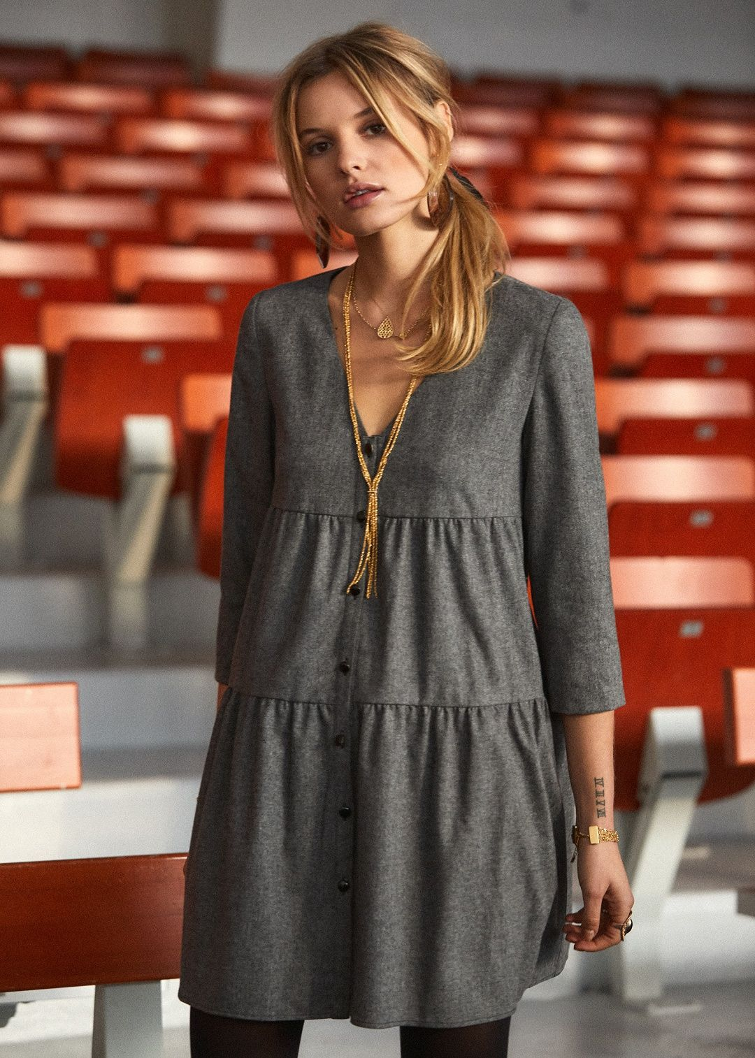 Sézane - Robe Amy   art teacher chic   Pinterest   Robe, Couture and ... 6c6c6e2c9000