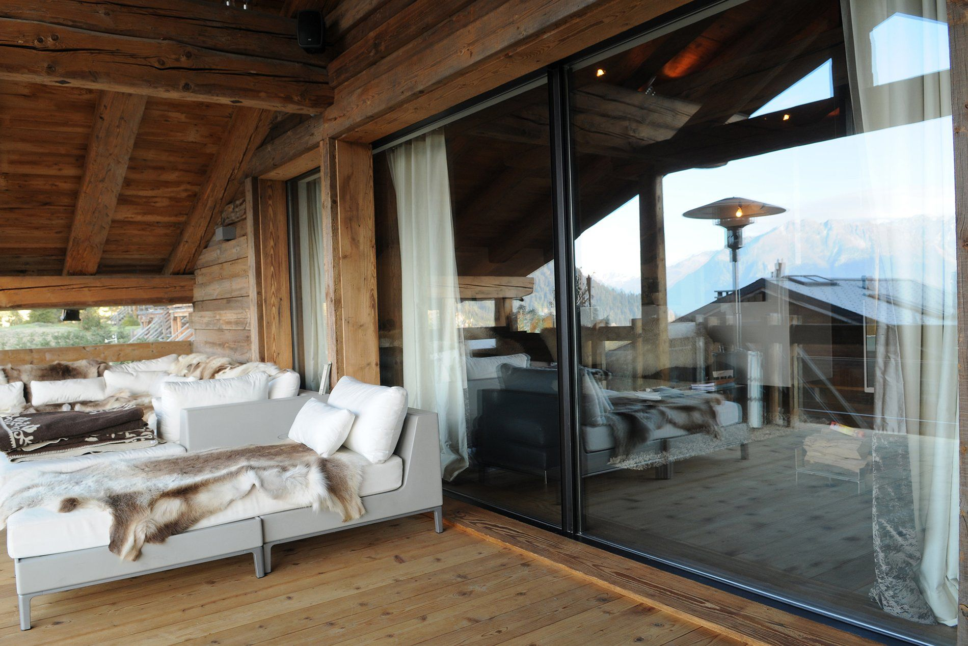 Sky Frame Fenster terrasse sky frame 3 chalet aiguille blanche ch fenster