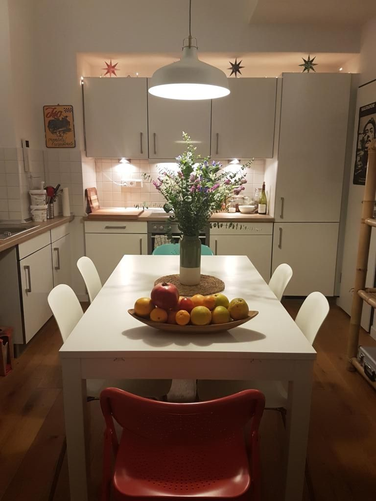 Einrichtungsinspiration für die Küche: Bei ausreichend Platz den ...