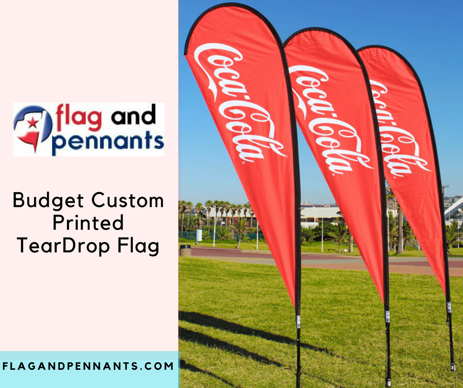 Custom Flags Are Used To Advertise Business At Any Outdoor As Well As Indoor Events Flag And Pennants Have Custom Flags Pop Up Advertising Trade Show Display