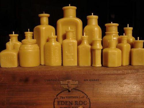 Make cool apothecary candles  http://www.myowlbarn.com/2011/04/pollen-arts-beeswax-candles.html?utm_source=feedburner&utm_medium=feed&utm_campaign=Feed%3A+MyOwlBarn+%28My+Owl+Barn%29