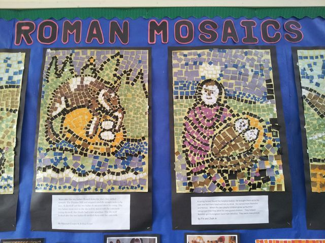 Pin by Leah Schuepfer on Year 1 TOG   Roman mosaic, Roman ...