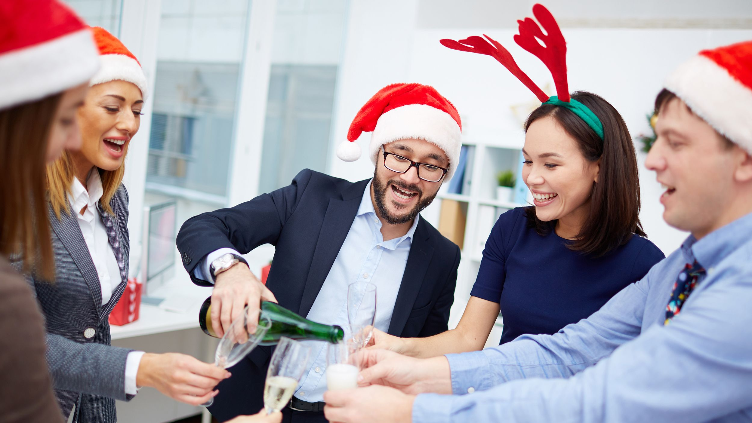 7 Small Talk Tips For The Socially Awkward Work Christmas Party Ideas Office Holiday Party Work Christmas Party