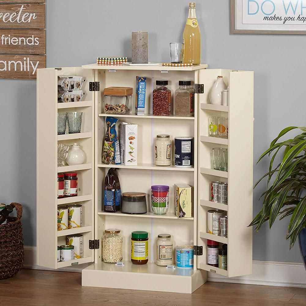 Kitchen Storage Pantry Cupboard Country Pine Wood
