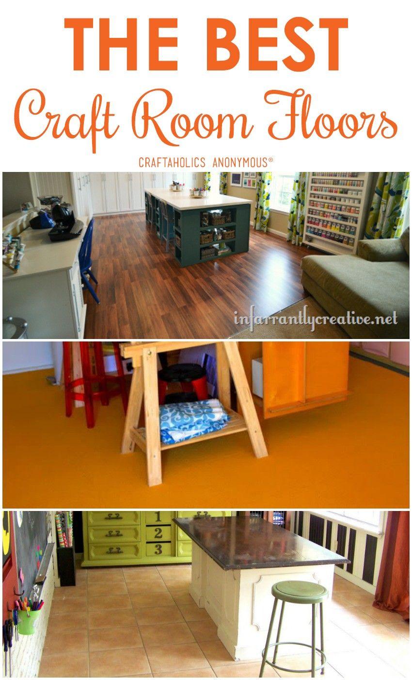 The Best Craft Room Flooring Room Flooring Dream Craft Room