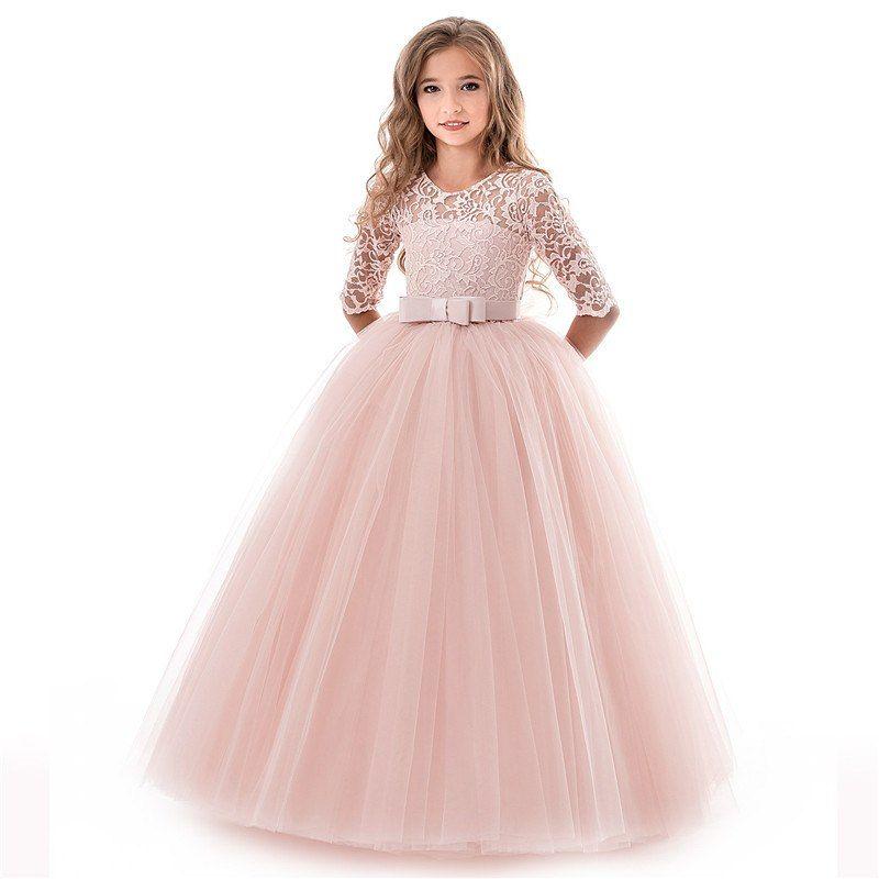 1c218f3783f European and American flower girls wedding dress princess dress prom dress  lace dress