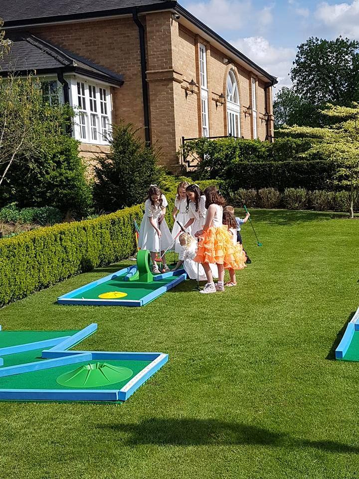24++ Wedding mini golf hire information