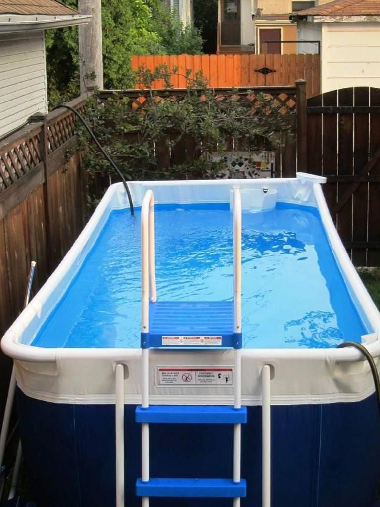 22+ Amazing and Unique Above Ground Pool Ideas with Decks