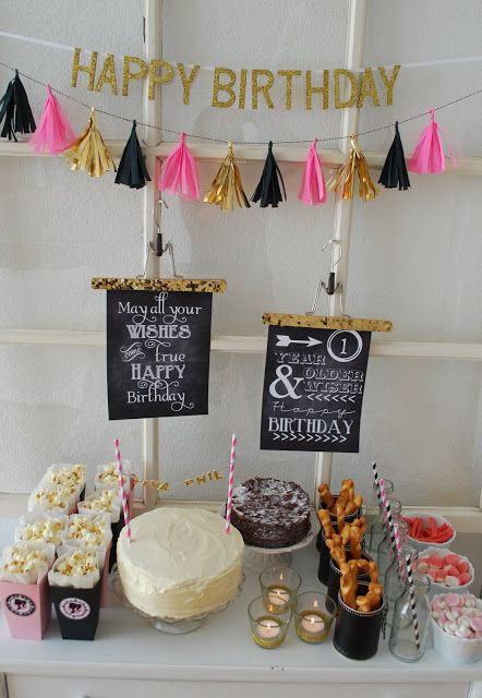 Geburtstagsbuffet Geburtstagsparty Geburtstagsfeier Ideen