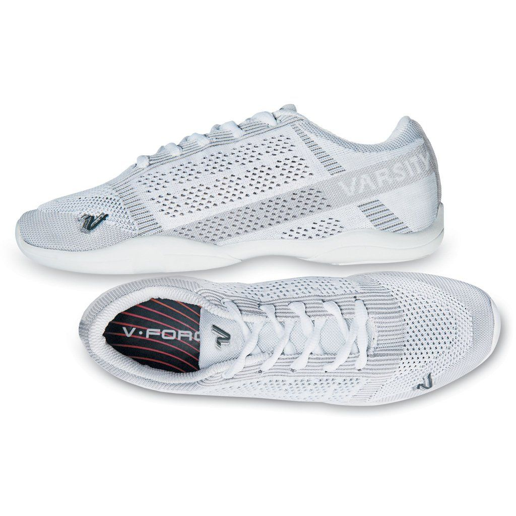 Dynamic new performance cheer shoe with \u0027All New\u0027 knit technology Designed  to mold specifically