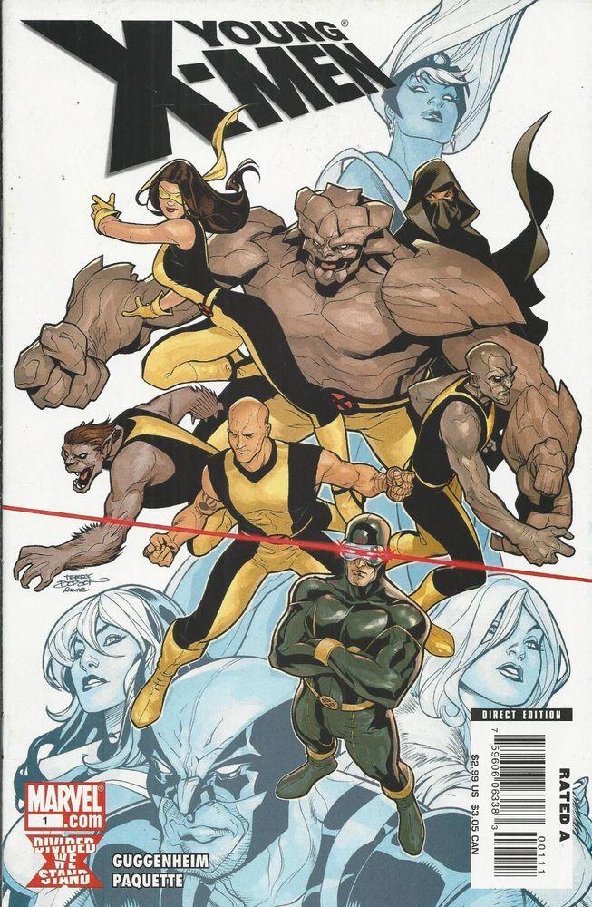 Marvel Young X Men Comic Issue 1 X Men Comics Comics Artwork