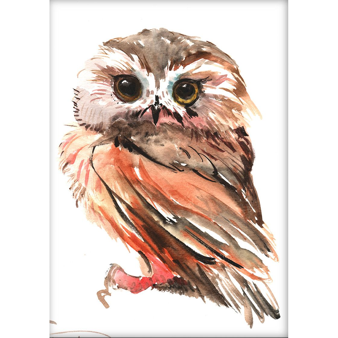 Owl by suren nersisyan painting print painting prints owl and