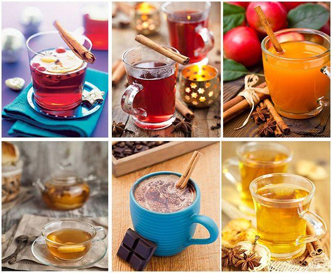 Картинки по запросу Осенние согревающие напитки
