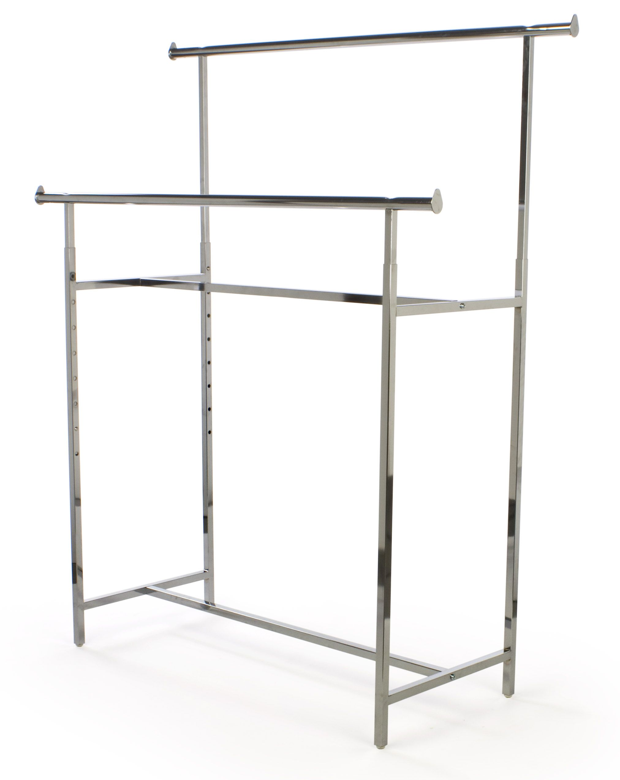 pipeline clothing black industrial way pipe pin rack adjustable racks apparel