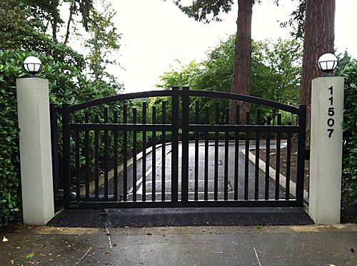 Tacoma Iron Work - Photo Gallery | Driveway gate, Gate ...