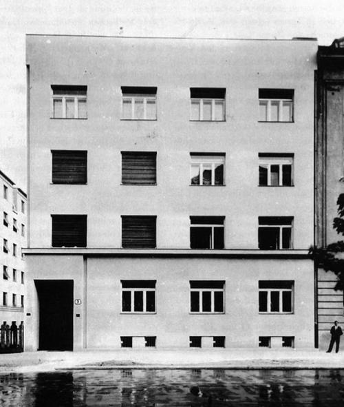 Zlatko Neumann Haus R Deutsch Zagreb 1929 Architecture Green Architecture Modern Architecture