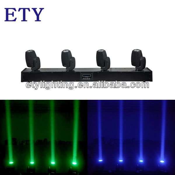 4 Head 10w Beam Led Dj Light 1 Lamp 10w Cree Led 2 Color Rgbw 4 In 1 Color 3 Channel 14 32 Dmx Ch Cree Led Dj Lighting Cree