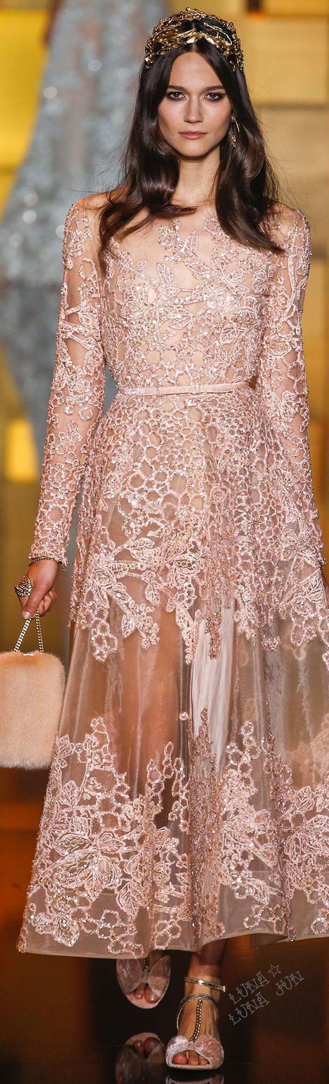 Elie Saab Fall 2015 Couture | Fashion | Pinterest | Madrinas de boda ...