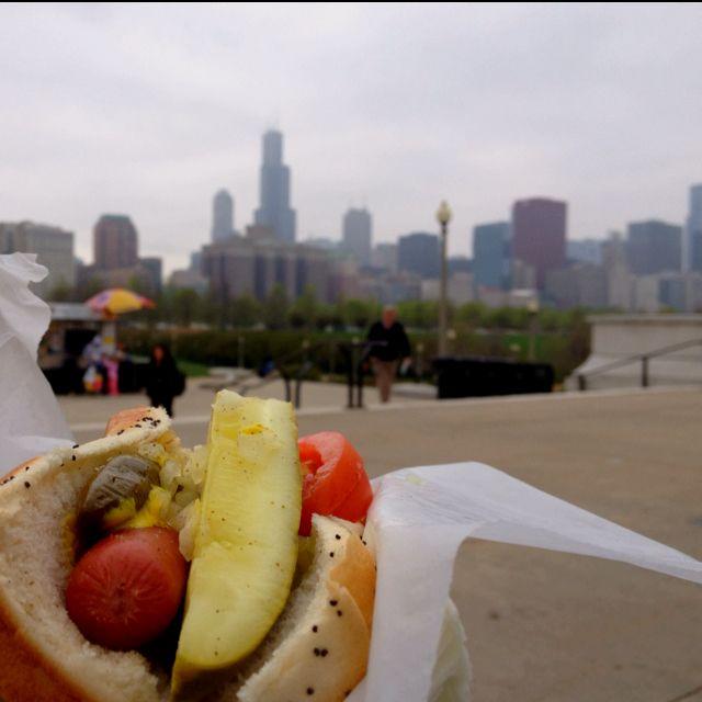 Chicago-style Hotdog