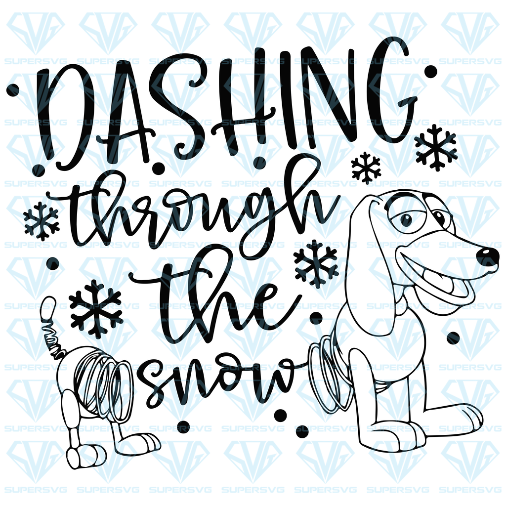 Dashing Through The Snow Svg Files For Silhouette Files For Cricut Svg Dxf Eps Png Instant Download Dashing Through The Snow Funny Svg Svg
