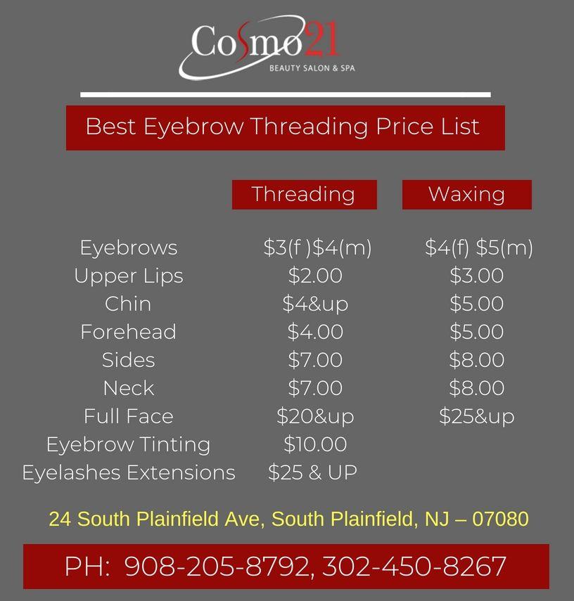1 Eyebrow Threading Beauty Salon Spa South Plainfield Nj Beauty