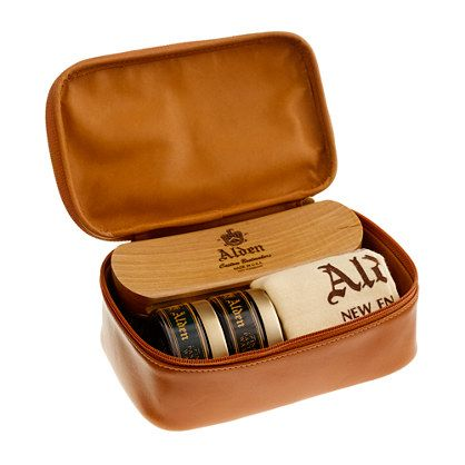 c724430161b49 Alden® travel shoe care kit | W A N T in 2019 | Travel shoes, Shoes ...