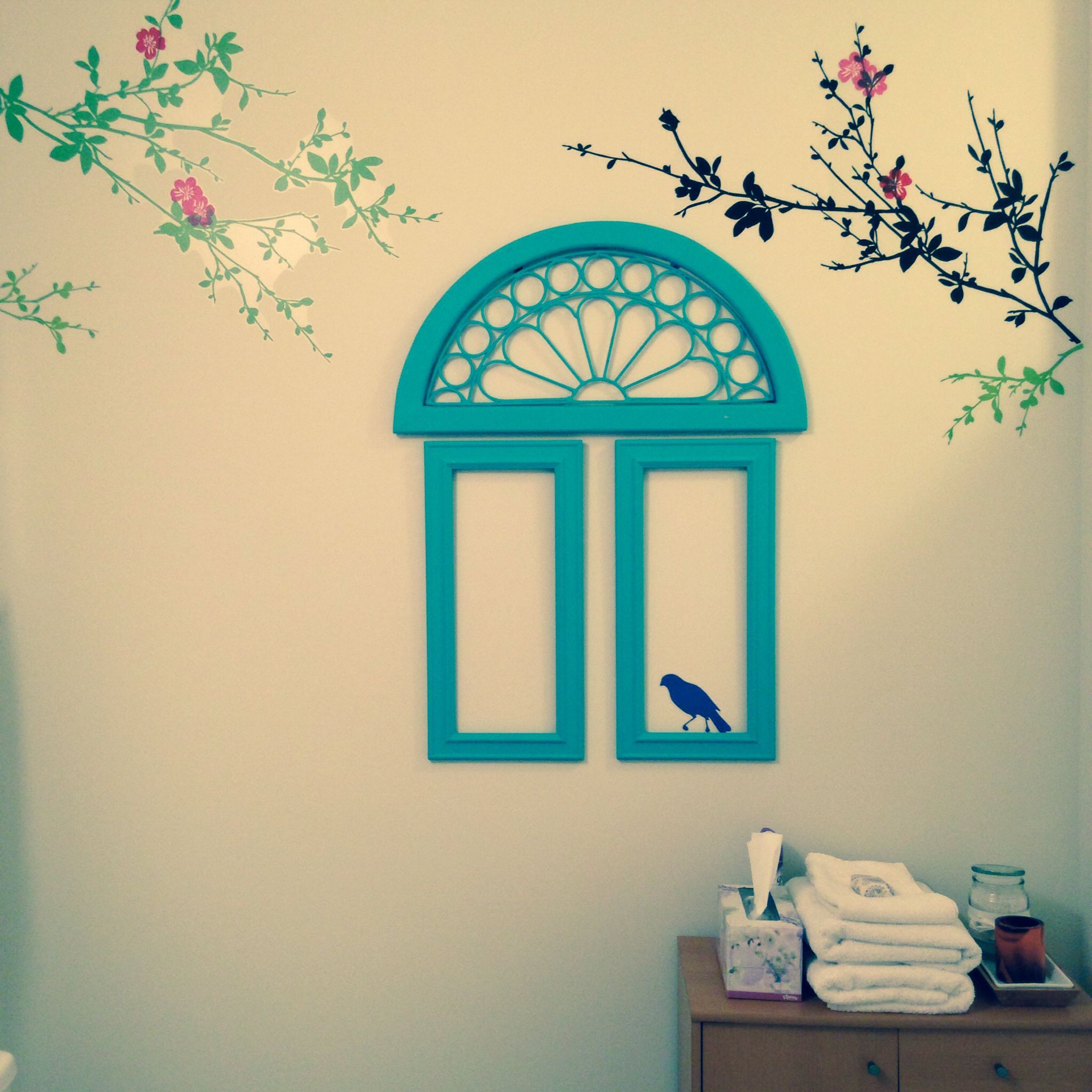Re-purposed frames.. #bird #cage #crafts #frames #paper #Repurposed ...