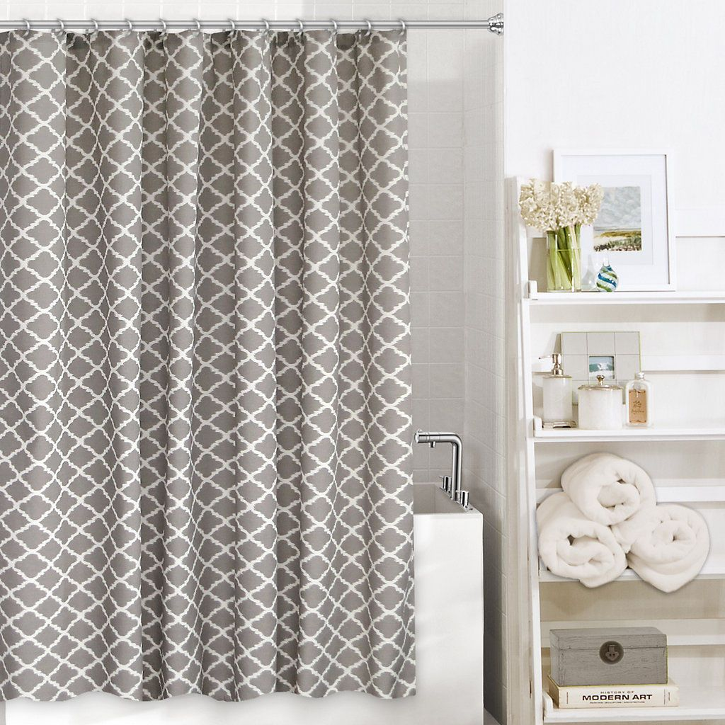 Colordrift Misha Fabric Shower Curtain Fabric Shower Curtains