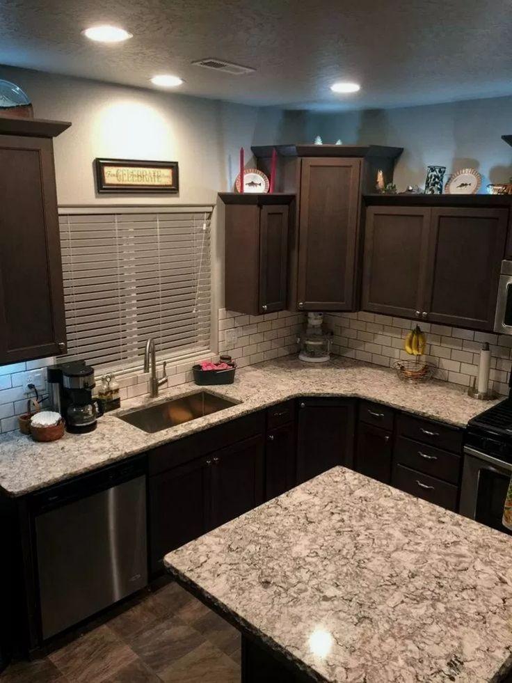 #cabinet #Dark #Ideas #kitchen #kitchendecor # ...