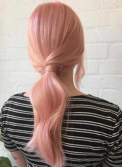 Rose Pastel -   11 dyed hair Pastel ideas