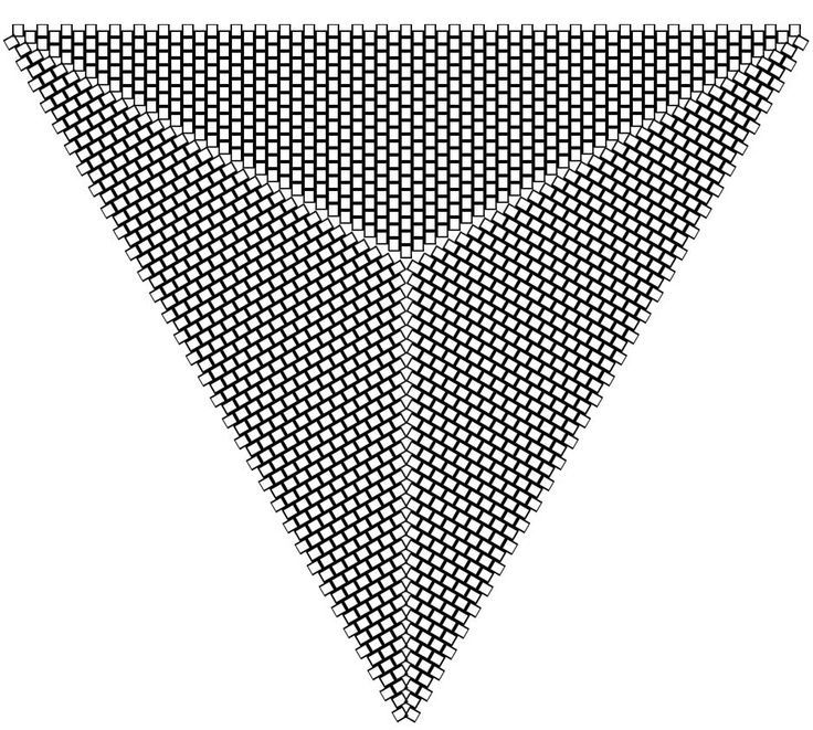 peyote triangle graph paper - Google Search Beading tutorials - triangular graph paper