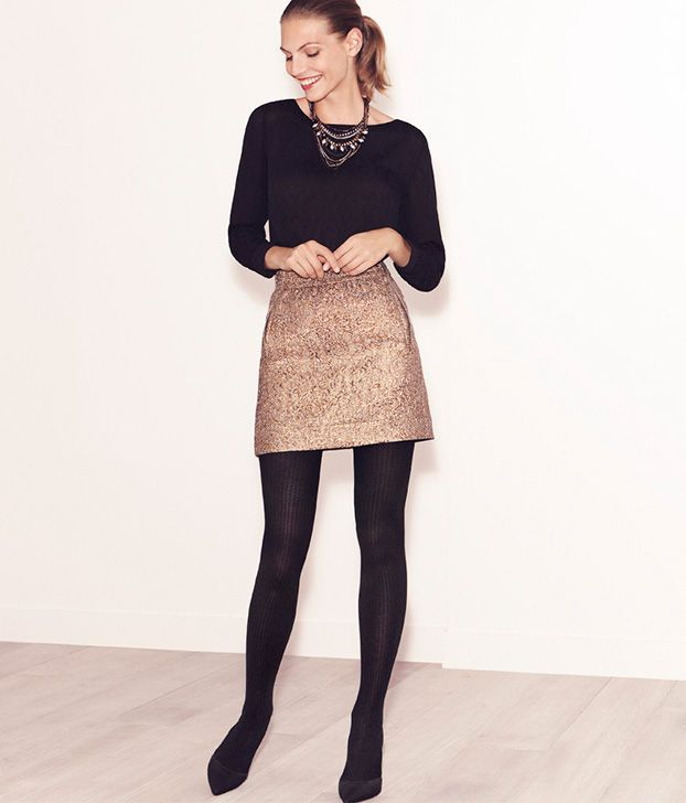 Metallic Party Skirt