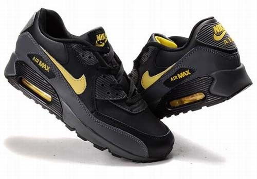 air max 90 black and gold